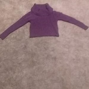 Mudd Violet Sweater Croptop
